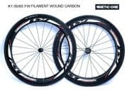 """SALE : Kinetic-One """"K1-50/65FW ULTIMATE"""" Carbon Wheelset"""